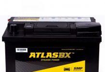 Ắc quy Atlas 68ah - 12v (MF 56828)