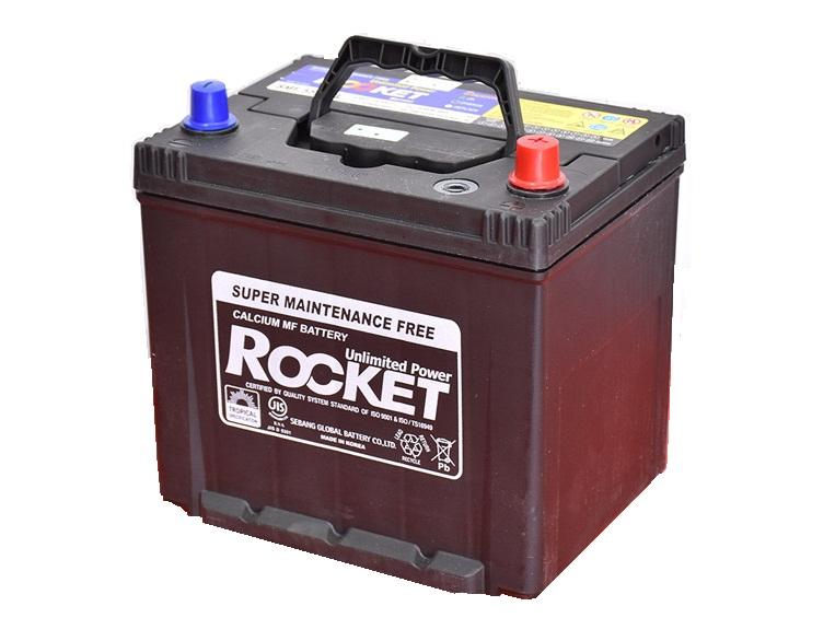 Ắc quy Rocket 50ah - 12v (50D20L) bán tại Hà Nội