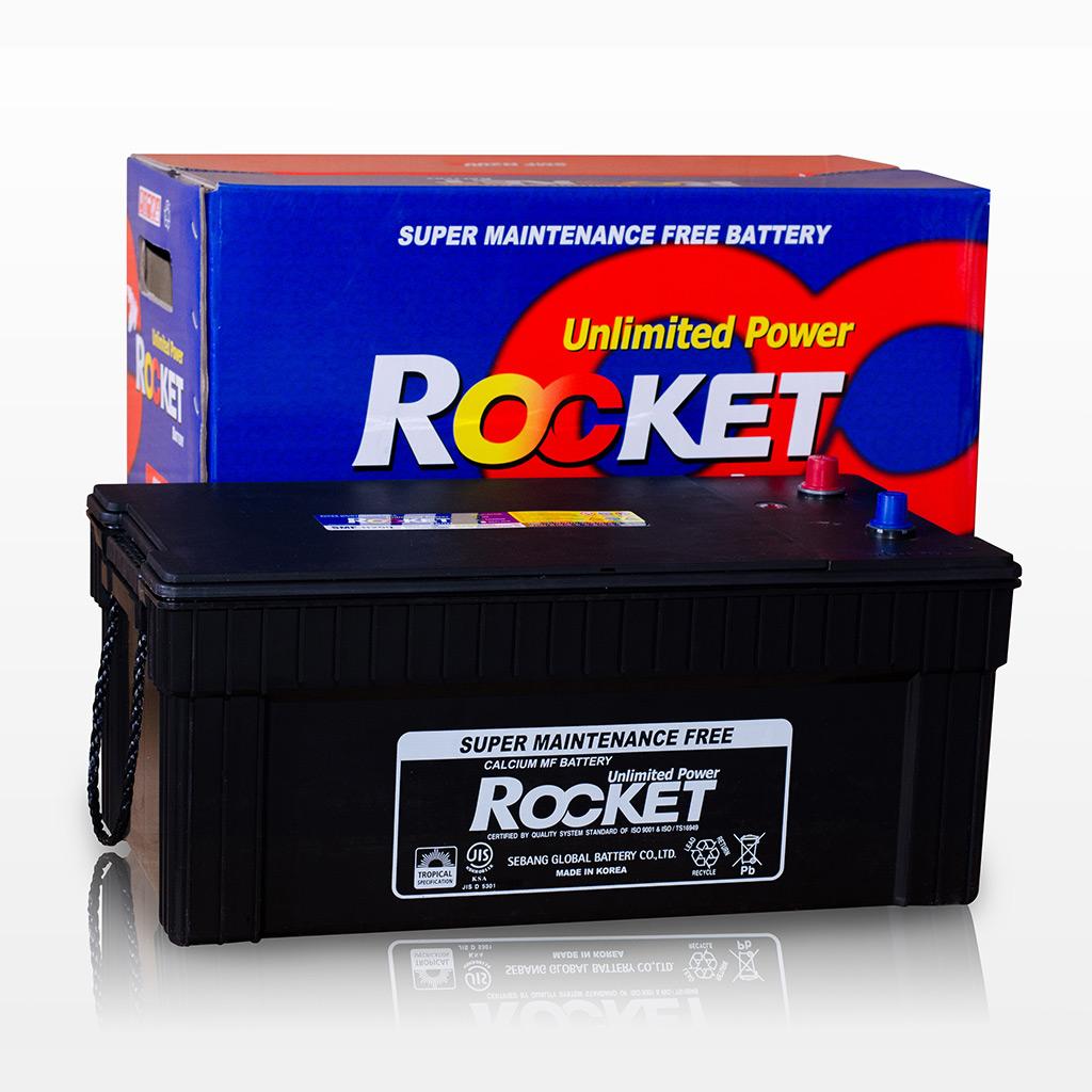 Ắc quy Rocket 120ah - 12v (N120) bántại Hà Nội