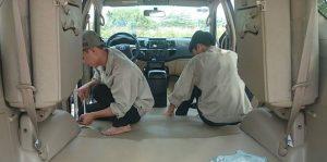 Bọc lót sàn da ô tô - dịch vụ chuyên nghiệp tại Hà Nội