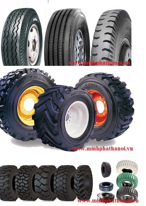 Trung tâm lốp xe nâng, xúc lật, công trình tại Thái Nguyên