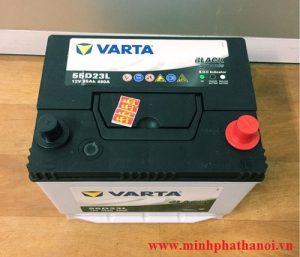 Ắc quy Varta 55ah - 12v (55D23L)