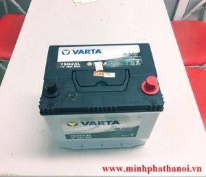 Ắc quy Varta 65ah - 12v (75D23L)