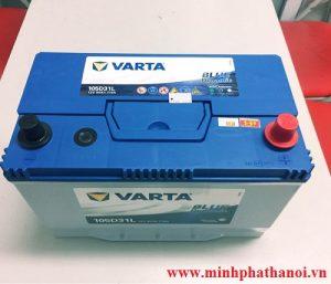 Ắc quy Varta 90ah - 12v (105D31L)