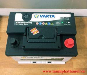 Ắc quy Varta 55ah - 12v (DIN 55530)
