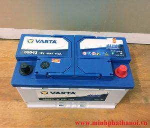 Ắc quy Varta 90ah - 12v (DIN 59043)