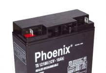 Ắc quy Phoenix dùng cho xe máy không cần nước cất trong thời gian sử dụng.