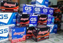 Ắc quy GS 44B19L (12V-40AH) do Công ty GS sản xuất đạt chuẩn về chất lượng và độ bền