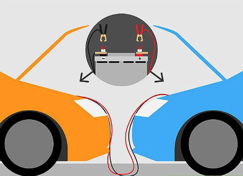 Sau khi nối xong, tắt máy xe cứu hộ và thử khởi động xe hết điện theo cách thông thường.